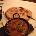 Chicken Balti & nan bread