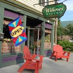 Find Willows Bistro one mile from Adirondack Northway exit 23