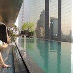 piscina panoramica meravigliosa