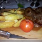 Brilliant steak at The Conservatory at Boxmoor Lodge. Fantas
