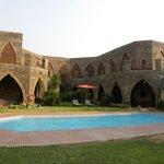 Lodge & piscine