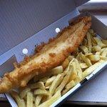 Fresh cod & chips