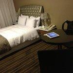 las habitaciones son cómodas y amplias