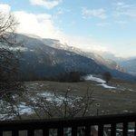 La valle dalla nostra camera