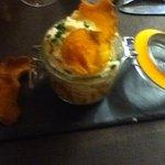 Sweet potato crumble starter