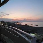 tramonto dal Park HOTEL