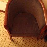 pletter på stolen