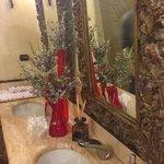 bagni forniti di asciugamani personali e spazzolini