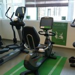 Fitness Room - Bike with kinetic energy charging for mobile devices