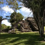 Kohunlich ruins (in the jungle)