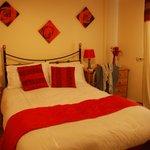 La camera in rosso