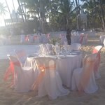beach wedding at the RIU Palace PC on Thursday 2/21