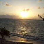 Sunrise on Divi Carina Bay Balcony