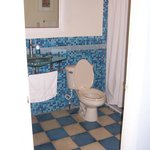 The bathroom...what it doesn't show is the size of the shower...it's HUGE!!