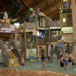 One of the indoor waterparks