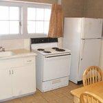 Cottage #24 Kitchen