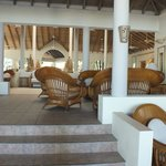 PART OF HOTEL RECEPTION AREA