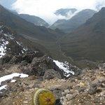 The view from Pichincha Volcano