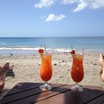 Beach and Rum Punch.  Does it get any better?