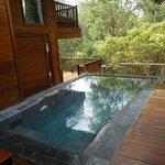 pool in villa 32