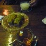 Tea and baklava