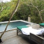 Pool in villa 33