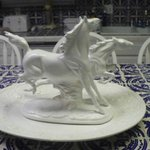 One of many beautiful horse figurines