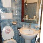 L'espace toilette
