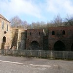 Remnants of the blast furnaces