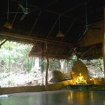 Yoga Hall in the jungle