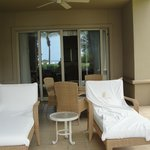 "Great terrace.  Could walk to beach/pool; served as ""backyard"" for our son!"