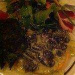milles feuilles d escargots au beurre persillé et son farçou
