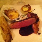 magret de canard aux fruits rouges