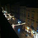 View from room window (on Florianska)