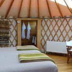 Inside Yurt (Patagonia Camp)