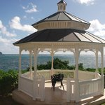 Gazebo overlooking the Atlantic