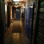 Korridor mellan rummen