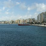 View of Gzira from the ferry
