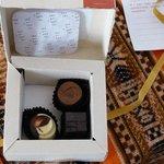 Complimentary chocolates - Terrantai