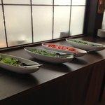 Das Salat Buffet dürfte ruhig etwas grösser sein :)