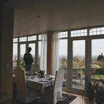 The dining room, breakfast room