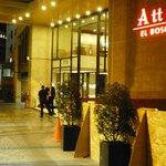 Entrance (Hotel Atton El Bosque)