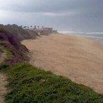 the nearest beach.