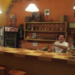 Ivan at the counter ready to serve you...welcome!