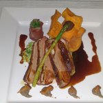 Duck breast for mains on Valentine's evening.'