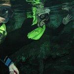 Dos Ojos snorkeling
