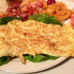 Cheese omelette, delicious!