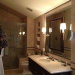vanity in room 7