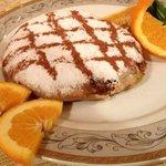 Pastilla aux Poulet (Chicken pastilla), very tasty