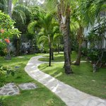 Grand Case Beach Club walkways